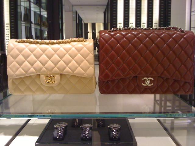 640ca16a34d Bolsa de Valores (   )  quanto custa a Chanel classic flap média e grande  (Post atualizado)